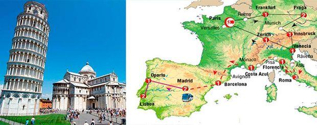 Paquete Turistico Europa Vision